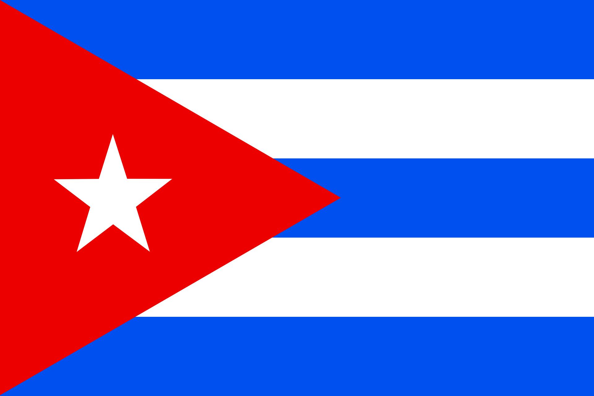 bandera de cuba png